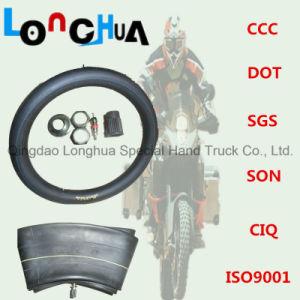 Longhua Fabrik-natürlicher Butylmotorrad-Reifen und Gefäß (4.00-8)