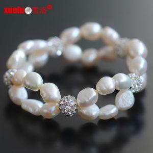 Muy barato el doble de Pulseras de Perlas Barrocas de la Mujer (E150055)