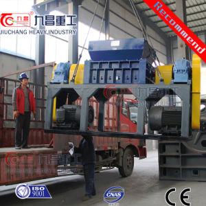 Máquina de trituración de plástico de doble eje Shredder con la máxima calidad