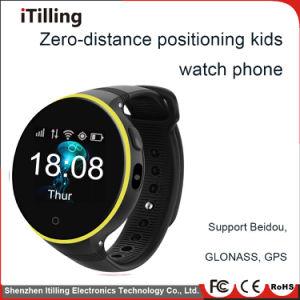 Slimme Jonge geitjes die Watch&#160 volgen; Telefoon met de Software van /Customized van de Monitor van het Tarief van de Groef/van de Pedometer/van het Hart van de Kaart van /WiFi/GPS/SIM van de Camera voor Kinderen
