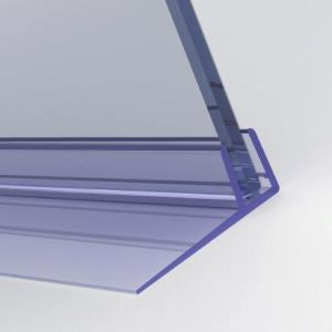 De plastic F-Gevormde Verbinding van de Douche van de Verbinding van het Scherm van het Bad Bijlage