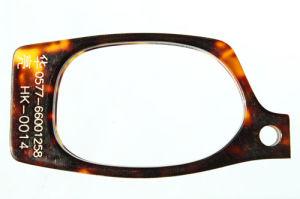 Het Blad van de Acetaat van de cellulose voor Plastic Ambachten zoals het Frame van het Oogglas, de Schildpad Shell van de Toebehoren van de Manier (HK-0014)