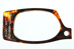 Cellulosa Acetate Sheet per Plastic Crafts Like Eyeglass Frame, Fashion Accessories Tortoise Shell (HK-0014)