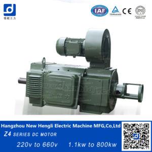 Electircal 600V 115kw 600rpm del motor de CC