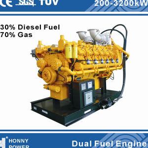 Multi generatori doppi del combustibile (combustibile diesel, HFO, gas della natura, biogas)