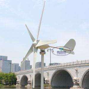Nuevo generador eólico de 400w 5 hojas pequeño molino de viento generador eólico de baja arranca con MPPT controlador de viento Boost de baja tensión