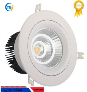 En el interior de alta calidad Sharp COB 6W Downlight LED caliente