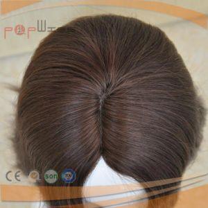 人間の毛髪の波状の皮の上の女性のかつら(PPG-l-0309)