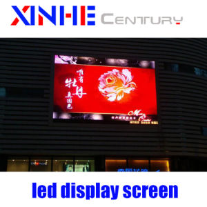 Druckgießende videoInnenwand des Aluminiumschrank-im Freien Miete LED-Bildschirmanzeige-Baugruppen-Bildschirm-P3.91 SMD