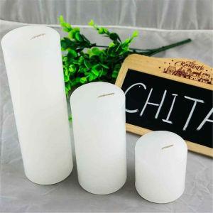 Pilar perfumada decorativos personalizados rústico candeia de parafina