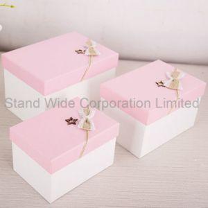 Caja de regalo de chocolate, caja de embalaje de cartón de tamaño personalizado
