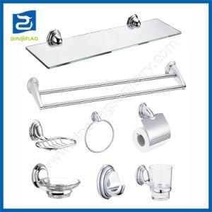 7pcs de aleación de zinc fábrica 6pzas conjunto sanitarios Accesorios de Baño Set