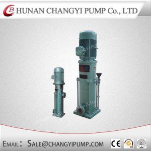 El uso del agua del motor eléctrico de la bomba multietapa estilo vertical