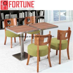 La luz verde restaurante moderno mobiliario con patas de acero inoxidable Tabla (FOH-BCA08)