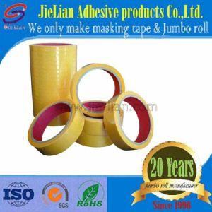 De plakband van het crêpepapier voor het Gebruik van de Auto van de Professionele Fabriek van China in Gele Kleur