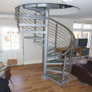 Escaleras de madera de roble pasos escalera de caracol de for Escalera de madera al aire libre precio