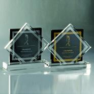 Fashion Design unique trophée de cristal Prix personnalisé