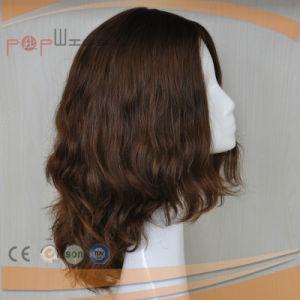 ハイエンド皮の上のヨーロッパの毛のかつら(PPG-l-0462)