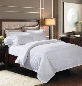 Das Hotel-Ansammlungs-beste ägyptische Baumwollstreifen-Bettwäsche-Set