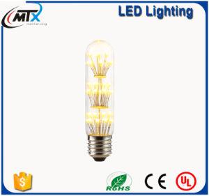 Fabricante de la luz de filamento de tungsteno de tubo de moda