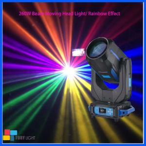 段階の照明260W Sharpyビーム点の洗浄移動ヘッド