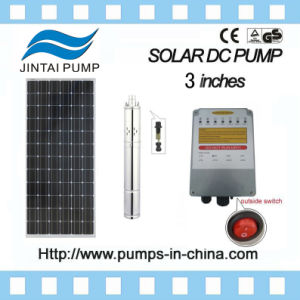 3 Sumergible DC sin escobillas de lista de precios de la bomba de agua solar