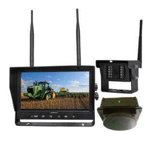 LKW-/des Gabelstapler-9inch 4CH 2.4G Digital hintere Ansicht-LKW-Kamera-System