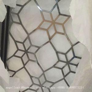 De aangepaste Kunsten en de Ambachten van het Roestvrij staal van de Laser van de Kunst van de Muur van de Bloem van het Metaal Scherpe