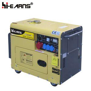 Grupo Electrógeno de gasolina súper silencioso (GG6500SE).