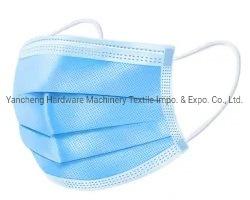 Cómodo Single-Packed diplomados 3ply Anti-Virus médico quirúrgico estéril desechable simple máscara respiratoria para médicos y enfermeras