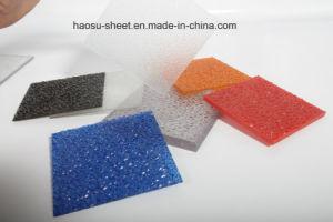 Het groene Polycarbonaat In reliëf gemaakte Blad van het Dakwerk van de Zon van PC Plastic