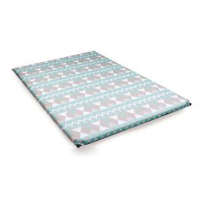 Almofada insuflável ultraleves Camping Sleeping Pad colchão de ar compacto Tapete de dormir