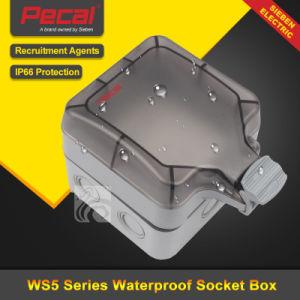 En el exterior de material PC de ABS resistente al agua IP66 caja de toma de Dust-Proof