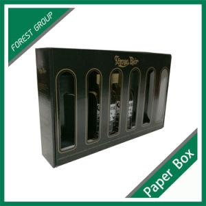 Custom Gold de l'impression Six Pack zone de la bière avec séparateur