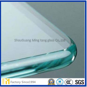 Piezas de mobiliario de vidrio, de 3-12 mm Borrar/procesado en forma/Edge-Worked/Cristal estante muebles