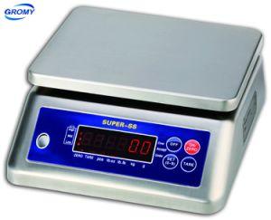Acero inoxidable resistente al agua IP68 Báscula Electrónica Digital 30kg.