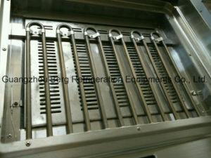 キャビネット1/3が付いている支えがないステンレス鋼の電気専門のグリドルは溝を作った