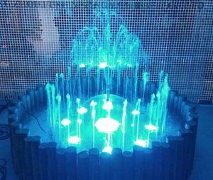 De kleurrijke Fontein van het Water van de Muziek van de Decoratie van het Huis Binnen