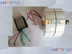 600W 12V Faible couple de l'alternateur à aimants permanents sans balai