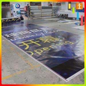 Баннер на открытом воздухе самоклеящаяся виниловая пленка ПВХ в зацеплении с проушиной и печать (TJ-MB-016)