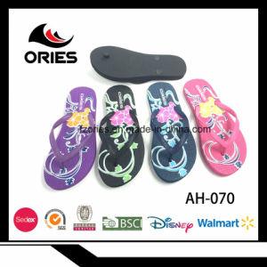 2018 Commerce de gros de la Chine usine OEM été Ladies PE Flip Flops de plein air