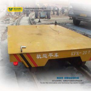 Fabbrica della saldatura Using il carrello ferroviario di trasferimento della guida per uso di industria