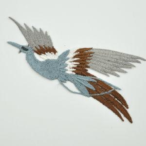Aves de la moda decoración parche bordado bordados