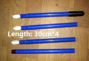 maniglia portatile lunga 1.2m a quattro parti Palo del rullo di vernice del manico di spazzola del Palo della scopa del Palo del Mop