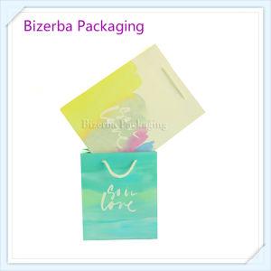 Papel estucado impresas personalizadas Embalaje de regalo Bolsas