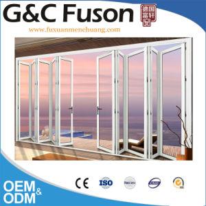 Doppio portello di piegatura di alluminio della Bi di vetro Tempered fatto in Cina