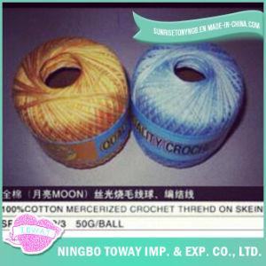 Cruz de tecelagem de algodão 100% lã de rosca para a Colagem de tricotar