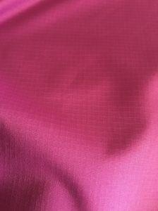 Ripstop duplo de poliéster reciclado Pongées Fabric
