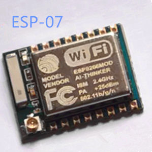 Система стабилизации траектории ESP8266-07 Веб-камера Micro модуль WiFi 8266 Новая версия 1 МБ