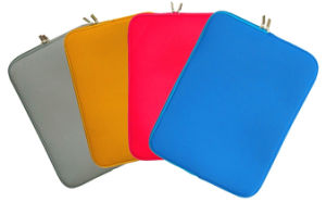 Luva de laptop, notebook em neoprene bag bolsa de notebook em neoprene fábrica via sedex